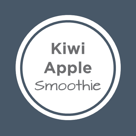 kiwi apple smoothie cover