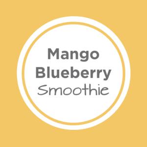 mango blueberry smoothie cover