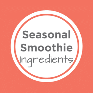 seasonal smoothie ingredients cover