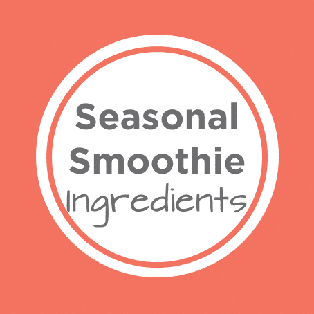 seasonal smoothie ingredients cover