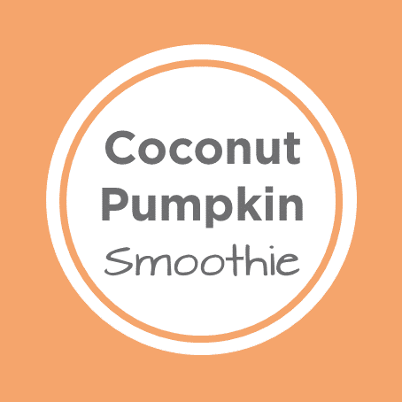 coconut pumpkin smoothie cover