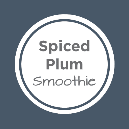 spiced plum smoothie cover
