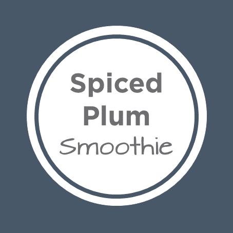 spiced plum smoothie cover