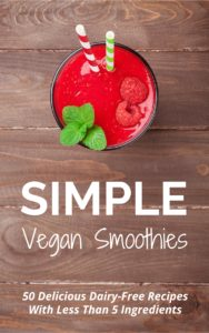 Simple Vegan Smoothies Kindle Cover