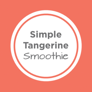 Tangerine Smoothie Cover