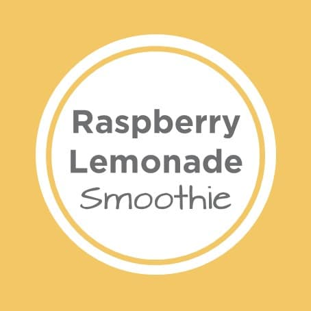 Raspberry Lemonade Smoothie Tile