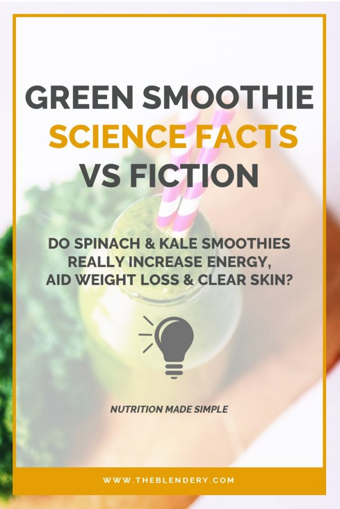 Kale & Spinach Smoothie Benefits