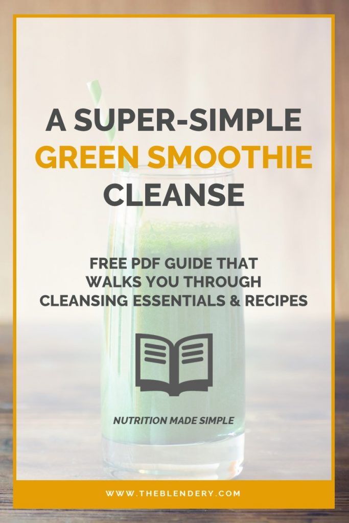 Green Smoothie Cleanse Guide Pinterest
