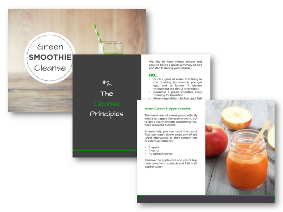 Free 10 Day Green Smoothie Cleanse Downloadable Pdf