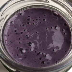 Smoothie close-up