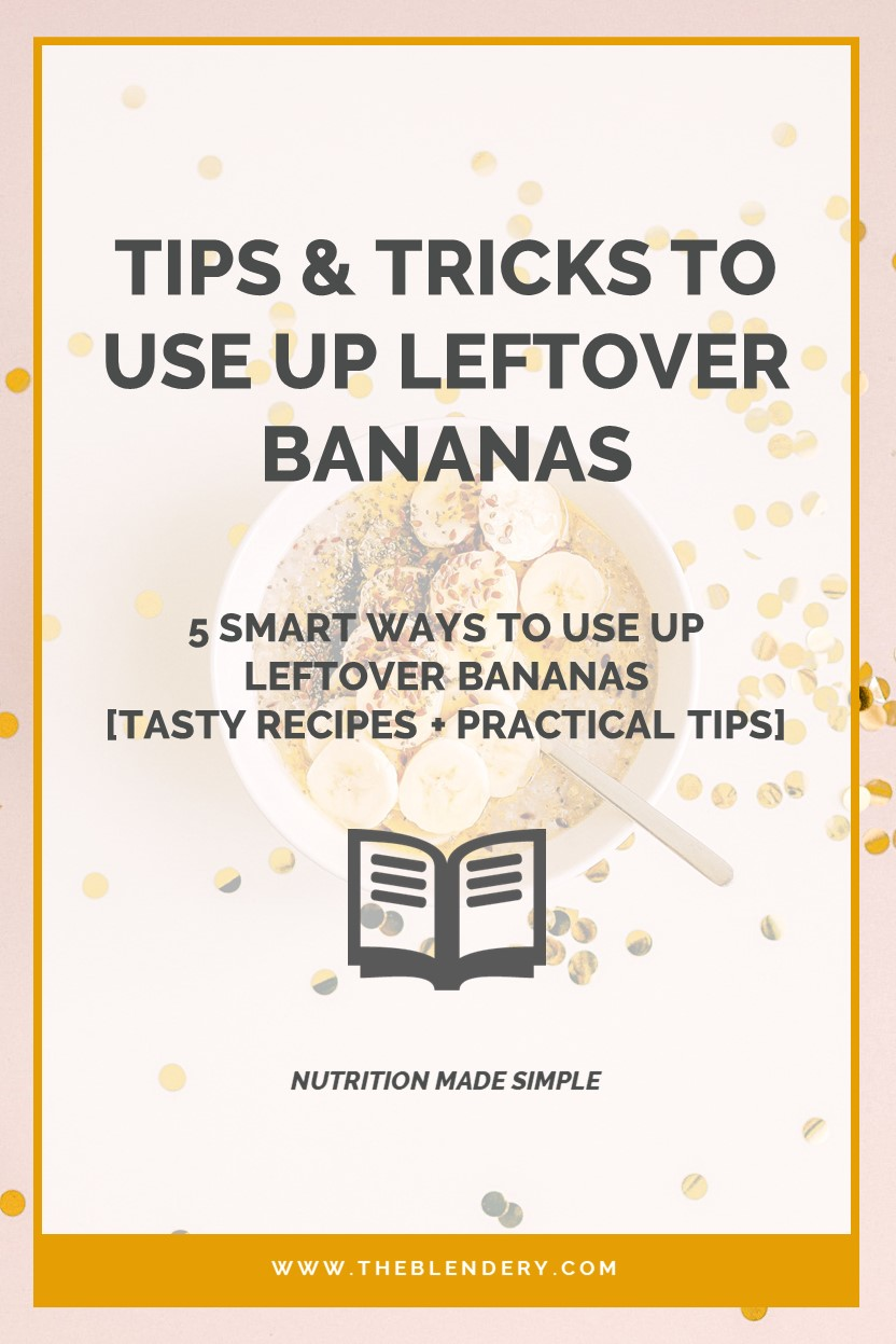 Recipes to Use Up Old Bananas