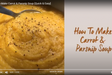 Roasted Carrot Parsnip Soup Recipe